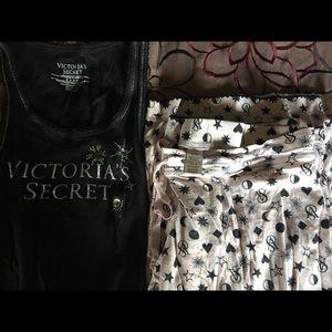 Victoria's Secret PJ Set XS